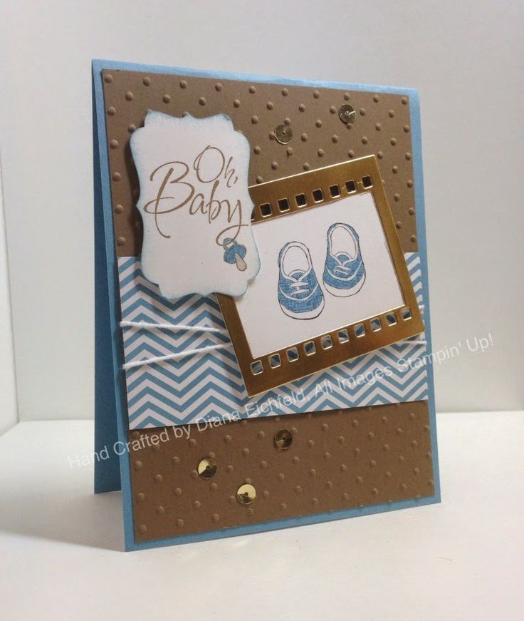 Stampin' Fun with Diana: Stylin' Stampin' Squad April Blog Hop: All About Babies, Baby, You've Grown Big Shot, Framelits, Baby, Card, Stampin' Up, Diana Eichfeld