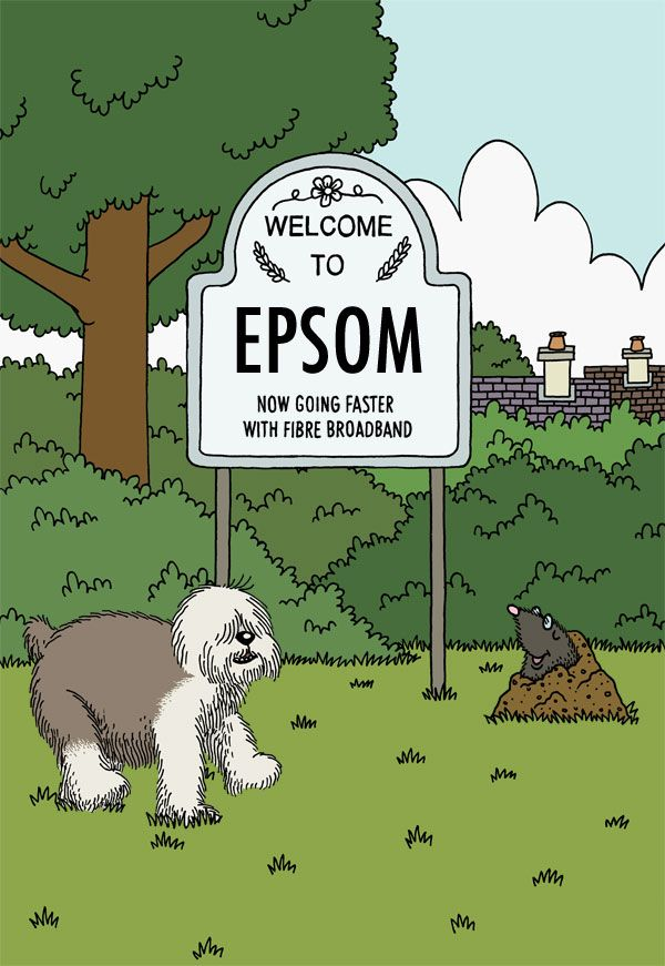 More fibre broadband availability in Epsom, Surrey - Superfast Surrey