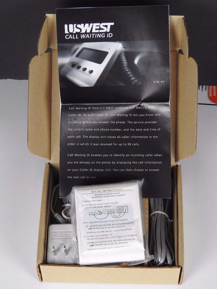 US West Telephone Call Waiting ID Display Unit CID 98 Tested - New #USWest