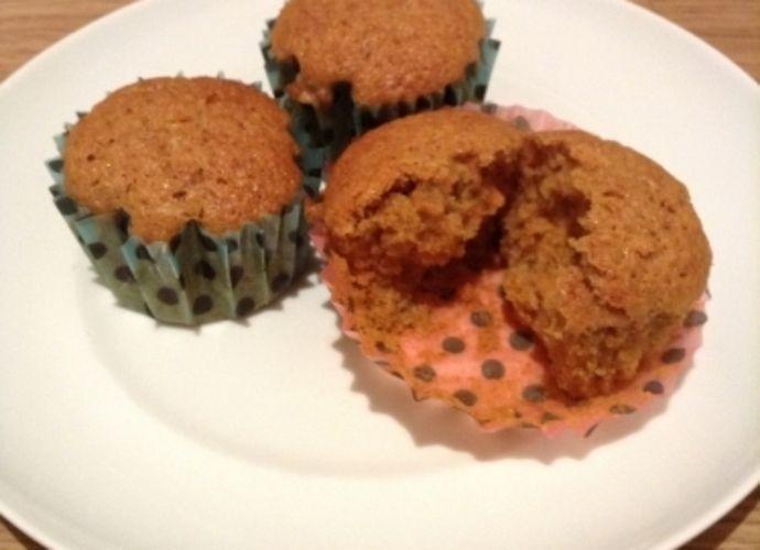 Magdalenas de zanahoria para #Mycook http://www.mycook.es/receta/magdalenas-de-zanahoria