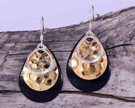 Beautiful statement earrings for a trendy individual!