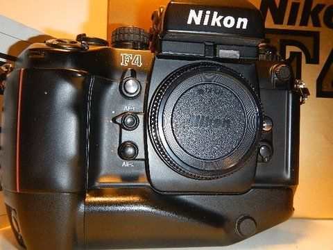 Nikon F4S Autofocus Camera Body wNikon MB21 Motor Drive -- Read more at the image link.