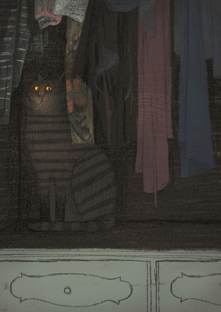 Emma in the closet