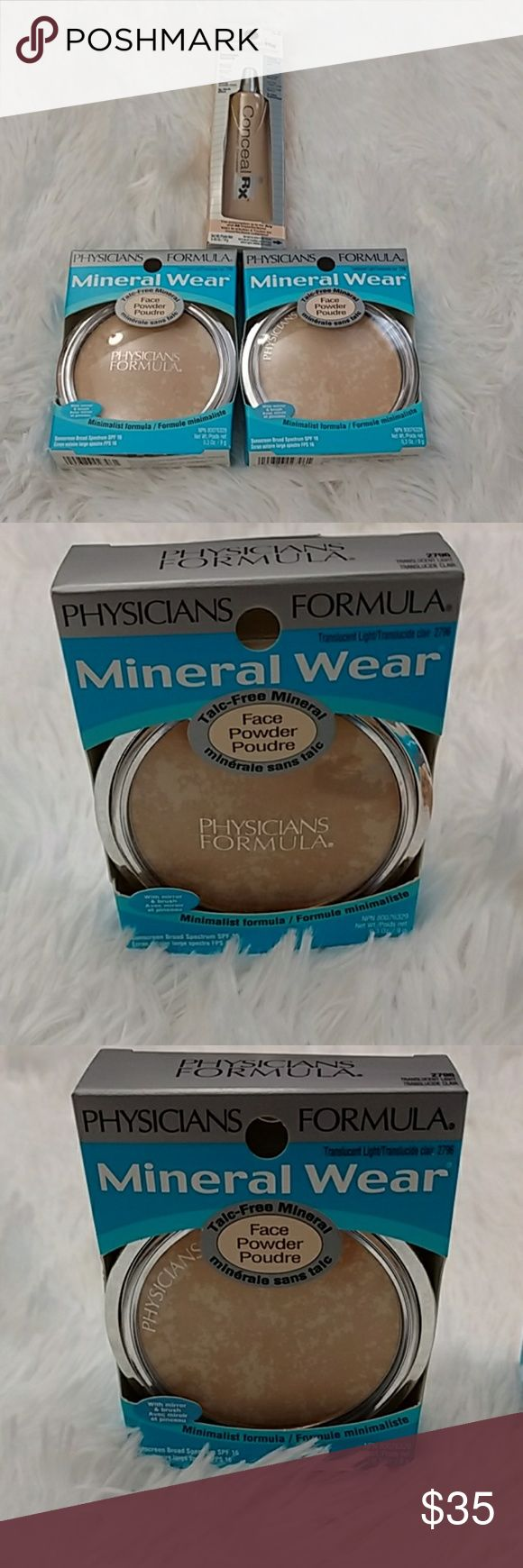 Physicians Formula Bundle New still in boxes 2 mineral