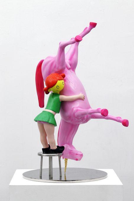 Sculpture by Richard Jackson.