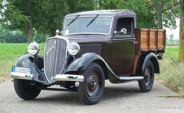 1934 Fiat Balilla 508 Cammioncino