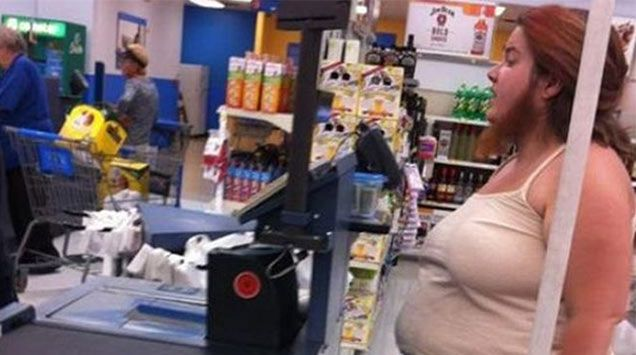 36 Crazy, funny, and plain old WTF moments seen at Walmart.