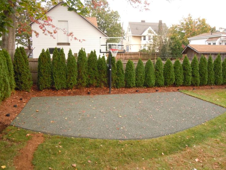 Basketball Court - Rubberized Permeable Paver
