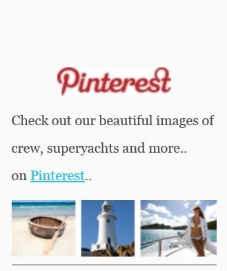 Check out our beautiful images of crew, superyachts and more on : Pinterest : http://www.pinterest.com/aycrew