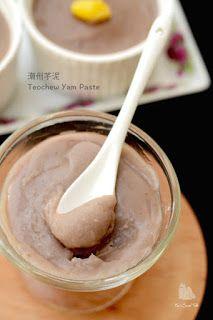 潮州芋泥 Teochew Yam Paste