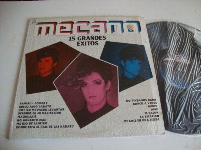 Mecano GRANDES EXITOS Mexican VINYL LP 1987