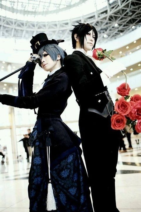 Black butler cosplay #anime #cosplay #costume