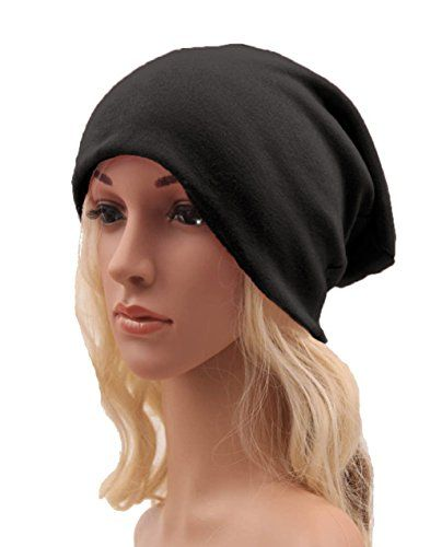 eee1b7f1d50 Century Star Unisex Trendy Warm Knit Slouchy Baggy Hip Hop Skull Hat Cap  Beanie Black     You can find out more d…