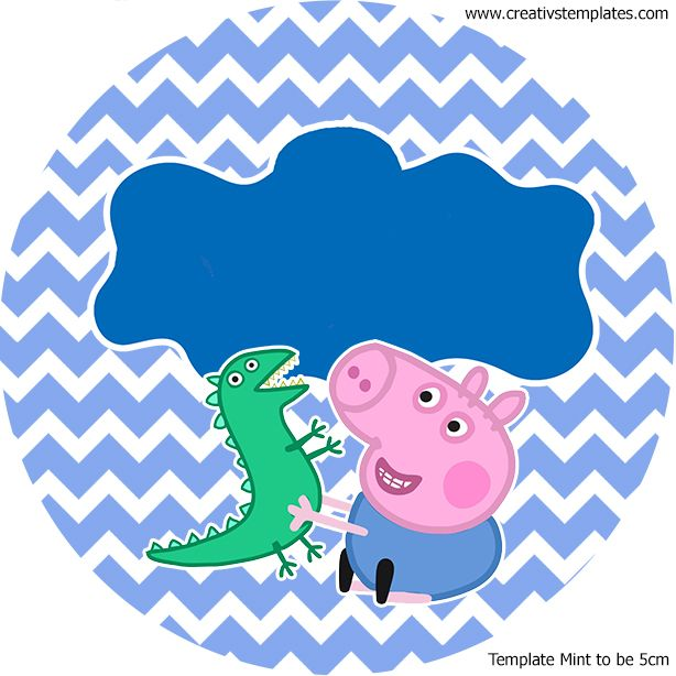 Kit festa Peppa Pig - George - mint_to_be_5