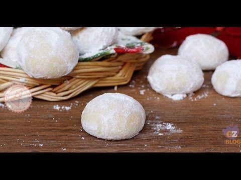 PALLE DI NEVE ricetta biscotti di Natale facili e veloci