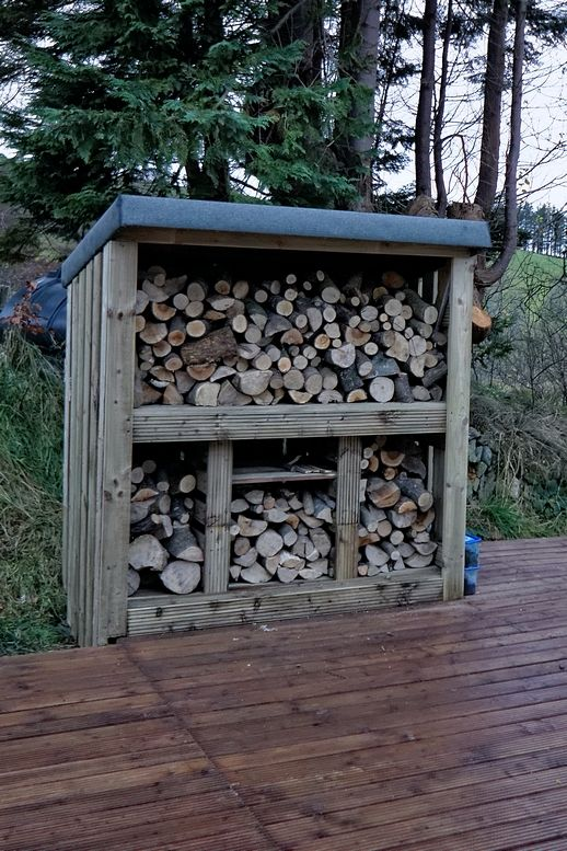 Wood stores/shed....basic principles for construction of store and storage ? « Singletrack Forum