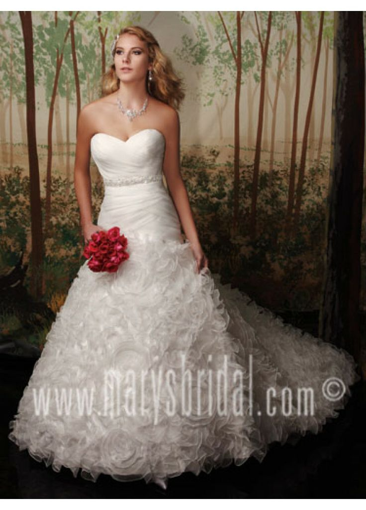 268 best Wedding Gowns images on Pinterest | Homecoming dresses ...