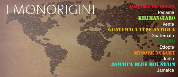 'I Monorigini' from all over the world