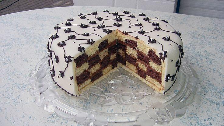 Geheime Rezepte: Schachbrett - Torte