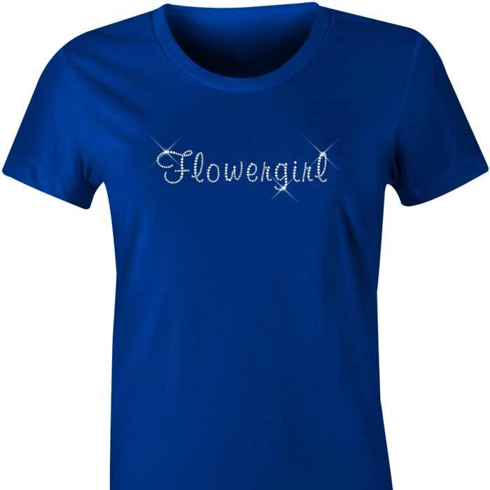 Flowergirl Diamante TShirt