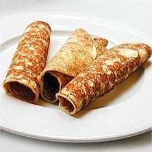 Stek pannkakor utan ägg! Pannkakor kan ätas som efterrätt, varmrätt eller mellanmål. Här hittar du vårt recept på äggfria pannkakor.