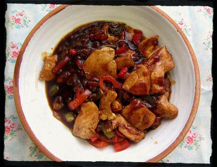 El Puchero de Morguix: Pollo en salsa teriyaki