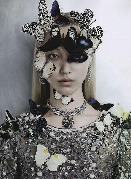 The Vogue Gioiello September 2012 Photoshoot Stars Soo Joo #fashion trendhunter.com