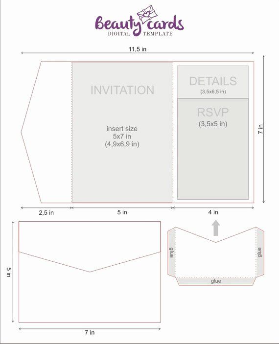 Fold Invitation Template Fresh Diy Classic Pocket Wedding Invitation Temp Pocket Wedding Invitations Cricut Wedding Invitations Pocket Fold Wedding Invitations