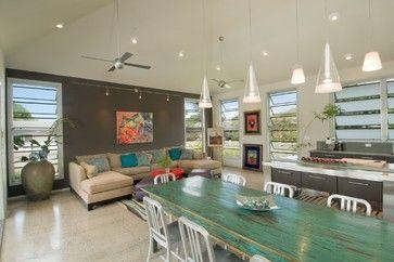 The Neoteric Classic - modern - family room - hawaii - Archipelago Hawaii Luxury Home Designs