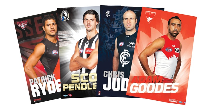 The Create a Poster process is simple.   All fans have to do is simply jump onto the website http://www.createaposter.com.au/ and select their favourite AFL player from the options provided.