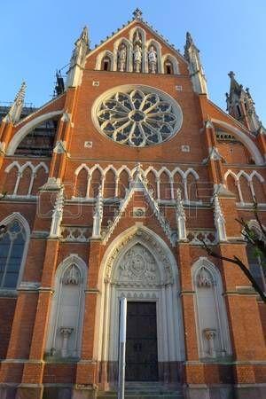 Cathedral in Osijek. Slavonija / Slavonia. Croatia
