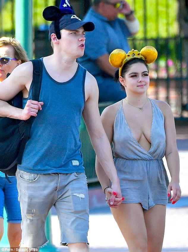 All ears! The Modern Family starlet accompanied boyfriend Levi Meaden to the park, where t...