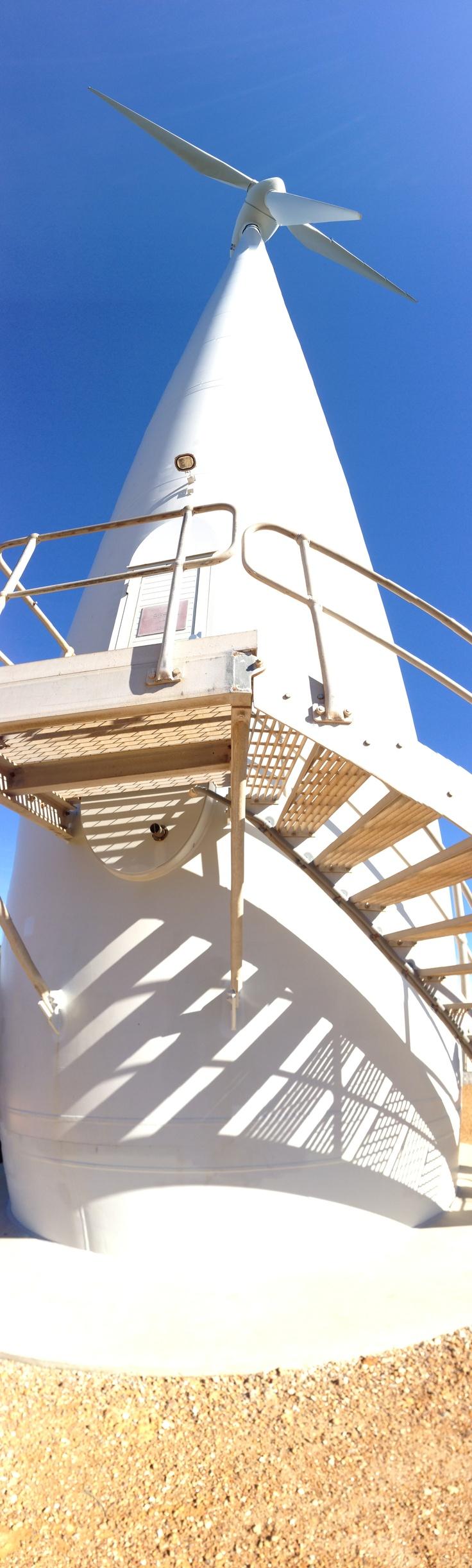 Albany Wind Farm Wind Turbine Torndirrup National Park Albany, Western Australia.
