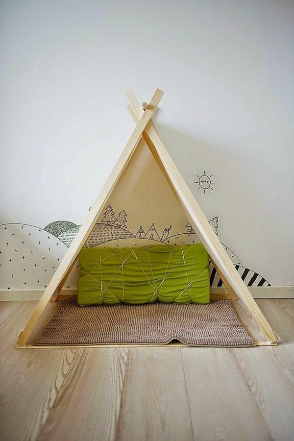 dekoratives Zelt selber machen