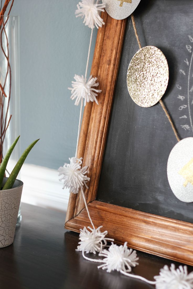 I absolutely love this! This would be fun seasonal or party decor, or even all year round in a kid's room!