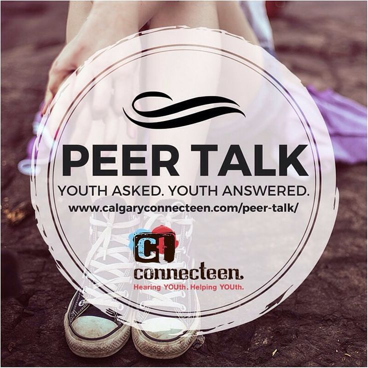 Do you have questions but don't know who to ask? Submit them anonymously to our #PeerTalk page and a ConnecTeen #volunteer will post their answer to the page in 3-5 business days. It's a great way to get info if you're too #shy to talk to ConnecTeen directly.  Submit your q's here: http://calgaryconnecteen.com/peer-talk/