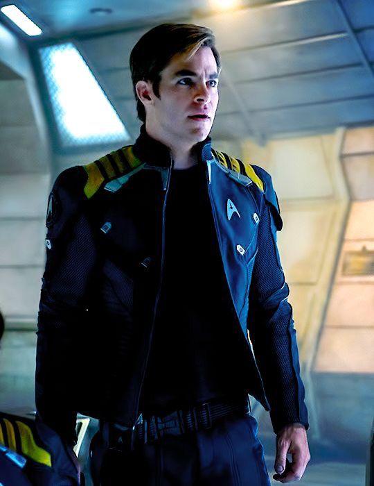 Captain Kirk, Star Trek Beyond.