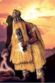 Babalu Aye (also known as Omoluaye, Asojano, or Shopona) Orishawho rules over infectious diseases and healing. He is one of the most feared and reveredorishawbecause of his power over life and death. Babalu Aye's worship originated with the Fon tribe of Benin, in Western Africa, but his influence was so powerful that tribes up and down the West African coast adopted his worship. He is the patron of those suffering from many infectious diseases. Babalu Aye has a special relationship with…