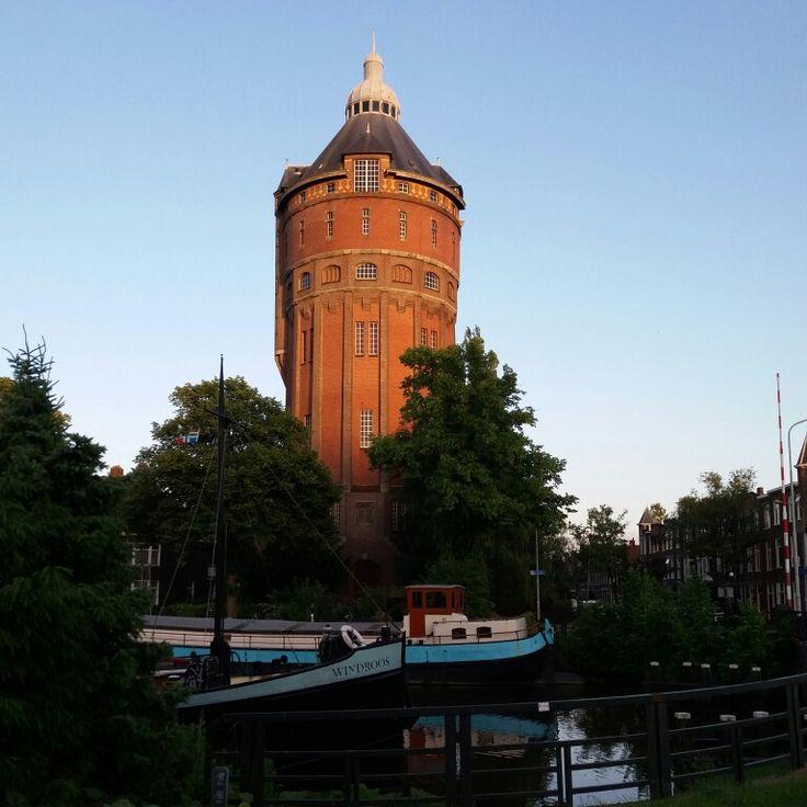 Watertoren in Groningen. #Groningen #holland #watertoren