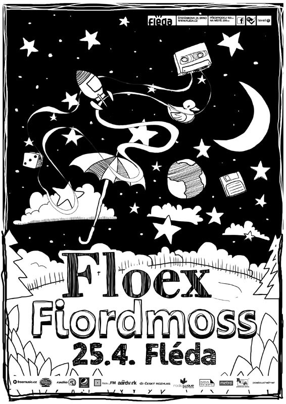 """Floex + Fiordmoss poster"" by yVANs"