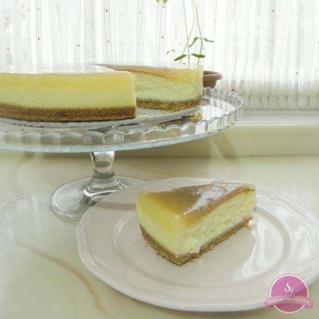 Limonlu Cheesecake tarifi