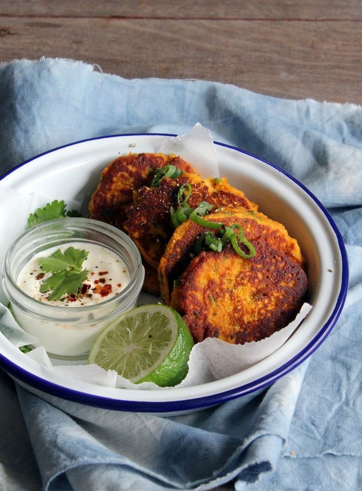 These wonderfully fragrant gluten and grain free fritters are huge on flavour without being heavy at all. Perfect as a light dinner or as part of a picnic or packed lunch.