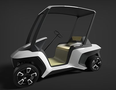 "Check out new work on my @Behance portfolio: ""Golf cart"" http://be.net/gallery/37509757/Golf-cart"
