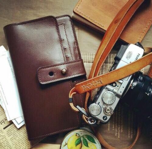 Leather wallet for him / Кожаное мужское портмоне