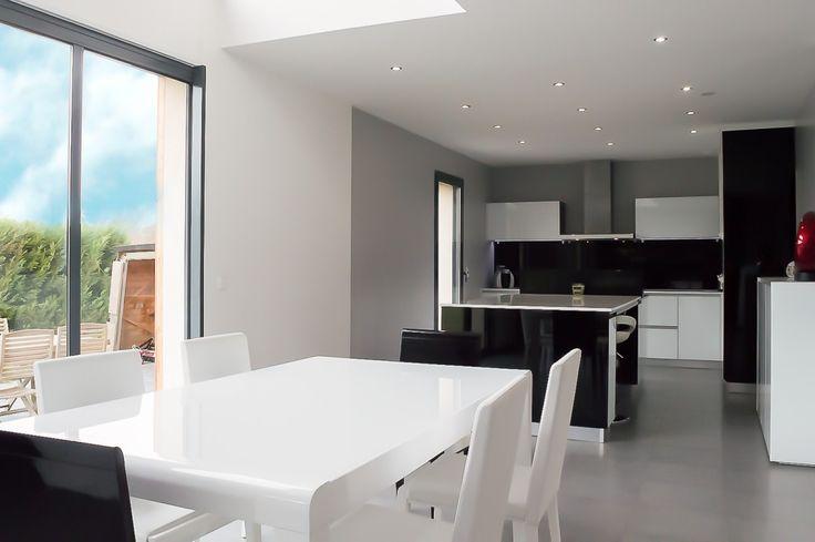 montfort l'amaury  maison  design   décoration bois  tendance  à vendre 545 000 € FAI