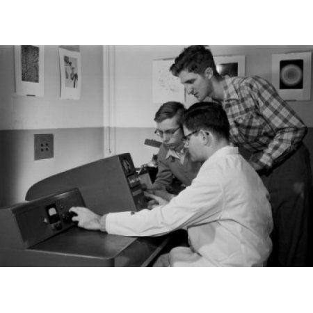 Students of Stevens Institute of Technology Hoboken New Jersey USA Canvas Art - (18 x 24)