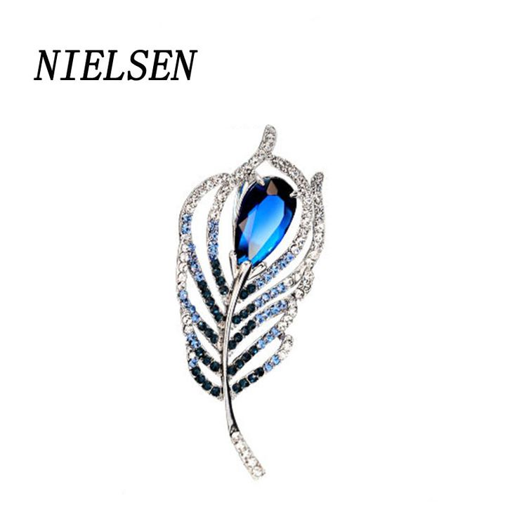 NIELSEN New European And American Fashion Exquisite Brooches For Women Brooch Costume Jewelry Women'S Brooch #Affiliate
