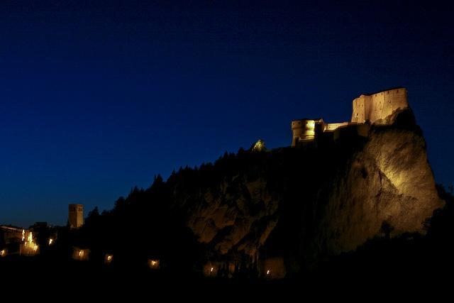 San Leo. La Fortezza. The Fortress