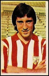 Goicoechea. Athletic Club de Bilbao. Cromos Ruiz Romero. Temporada 1976-77.