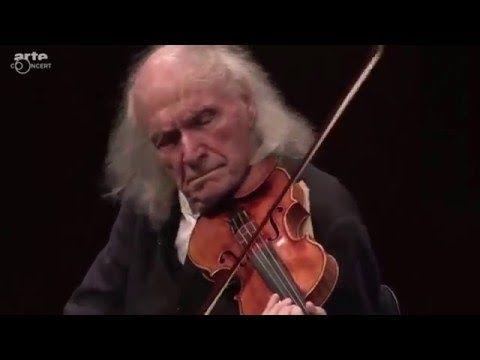 Ivry Gitlis - Concert Carte blanche pour Ivry Gitlis - Festival de Pâques d'Aix-en-Provence 2016 - YouTube